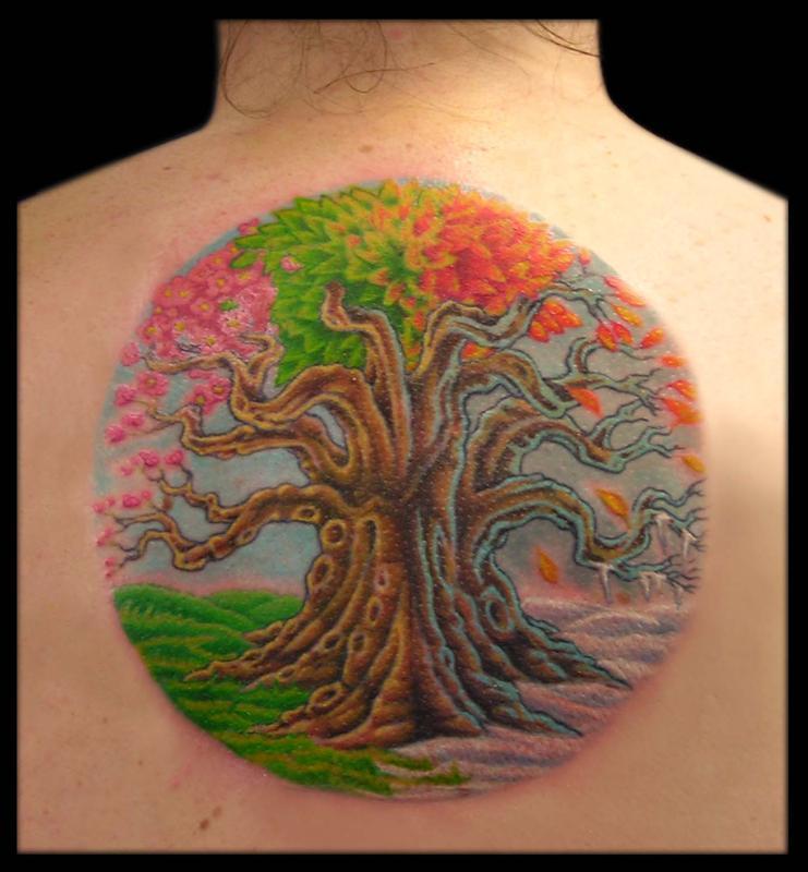 A tree of all seasons