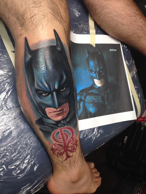 Dark Knight Logo Tattoo Batman Dark Knight Tattoo