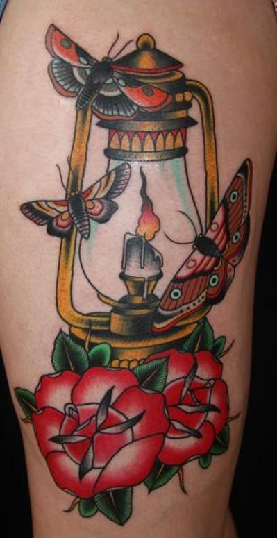 Ben Rorke   Lamp Tattoo