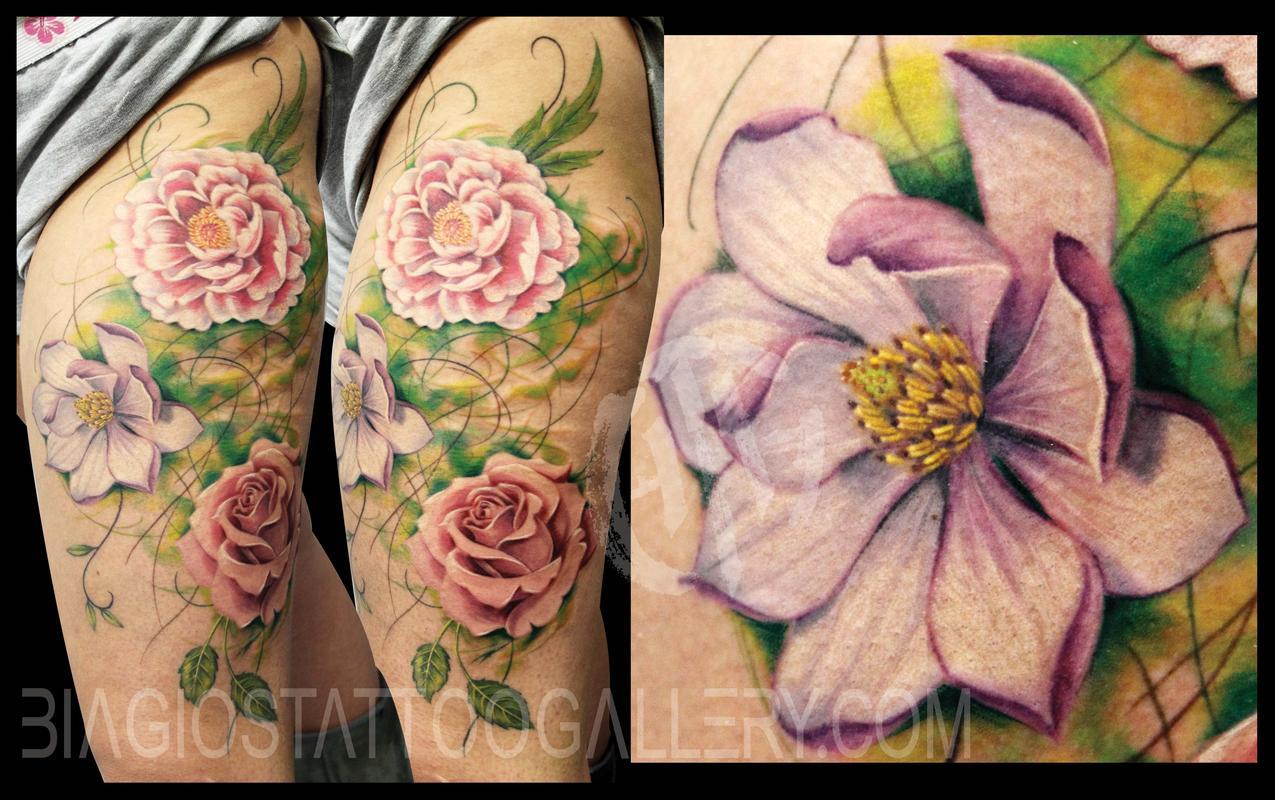 76714c1f9 Biagio's Tattoo Gallery : Tattoos : Sharon Lynn :