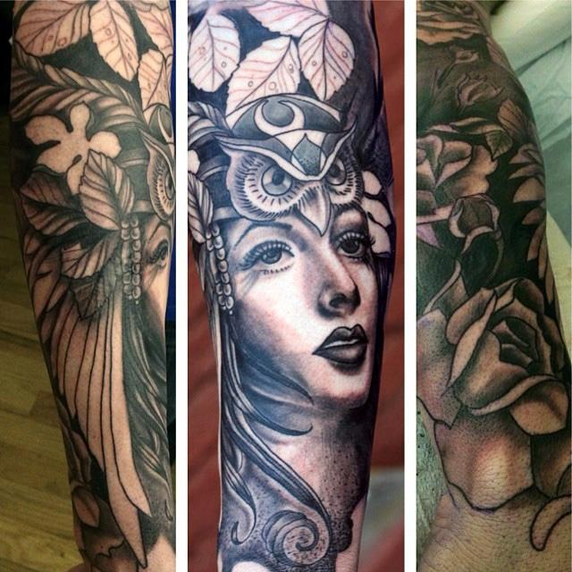 Nature Tattoo Half Sleeve: Mother Nature Half Sleeve By Canyon Webb : Tattoos