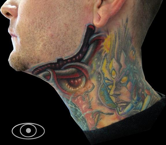 Bio neck 1 tattoos for Jeffrey dean morgan tattoo hand