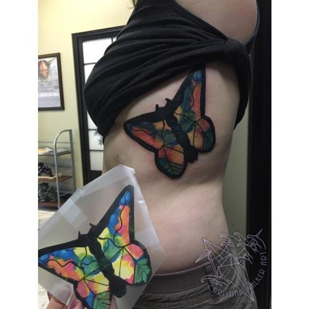 Lucky bamboo tattoo tattoos christina walker a child for Tattoo shops in utah