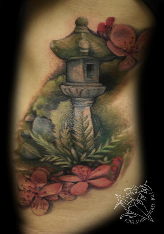 Lucky Bamboo Tattoo : Tattoos : Flower Cherry Blossom