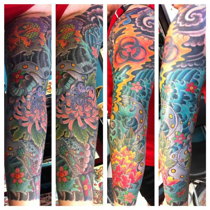3 4 by jedidia tattoonow for Element tattoo san antonio texas