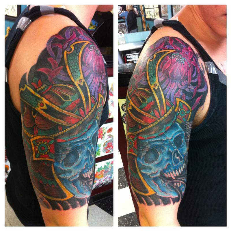 Cover up a 1 2 sleeve with 1 2 sleeve by jedidia tattoonow for Tattoo cover sleeve target