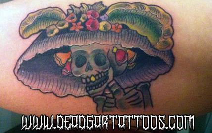 Deadgar Tattoos Tattoos Color Catrina
