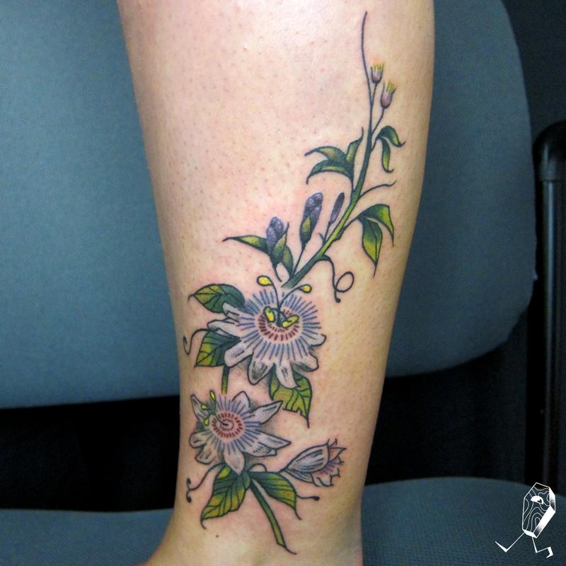 Passionate Anxiety Tattoo For Women: Off The Map Tattoo