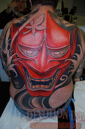 Hanya mask tattoo tattoos for Tattoo shops tyler tx