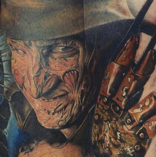 freddy krueger by cudney tattoonow