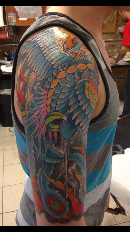 Deluxe Tattoo : Tattoos : Traditional Japanese Koi Fish