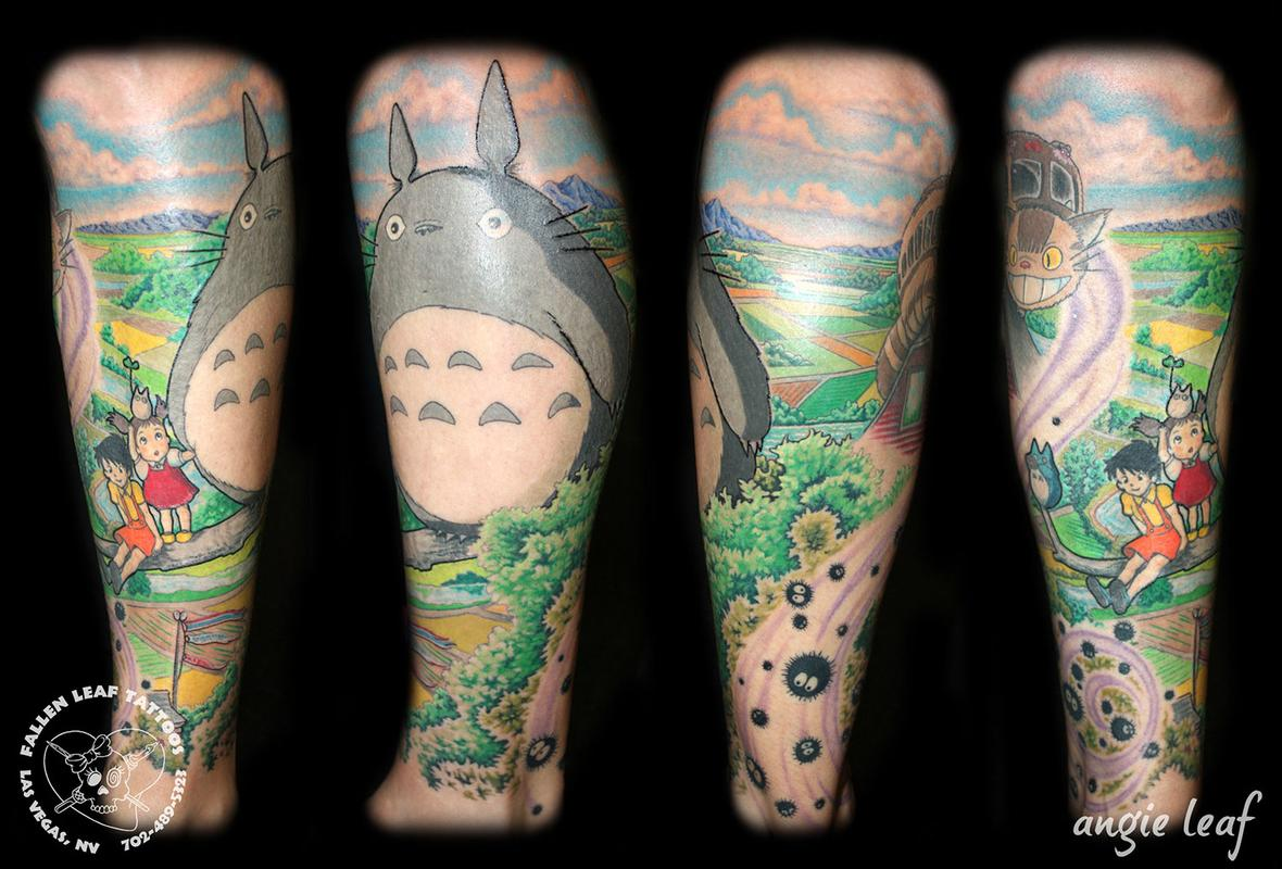 My Neighbor Totoro tattoo by Angela Leaf : Tattoos  Totoro