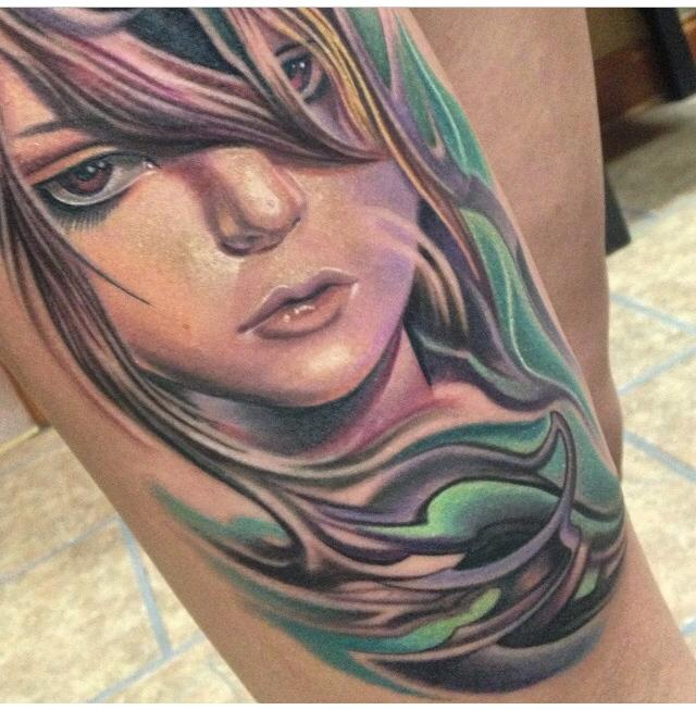 Portrait by max egy tattoonow for Tattoo shops terre haute indiana