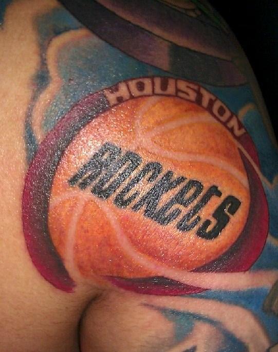 Houston rockets by joey rodriguez tattoonow for Tattoos of houston