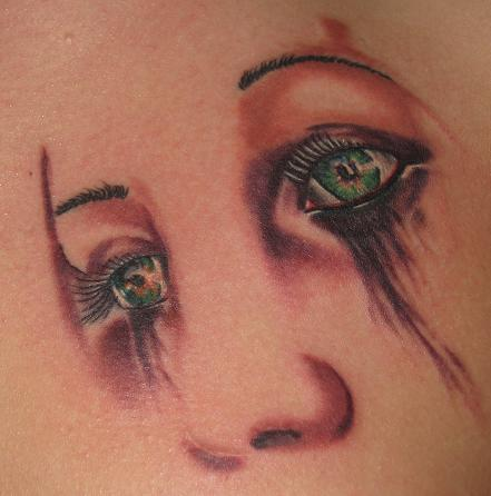 Eyes by brian gallagher tattoonow for Living dead tattoo haverstraw ny