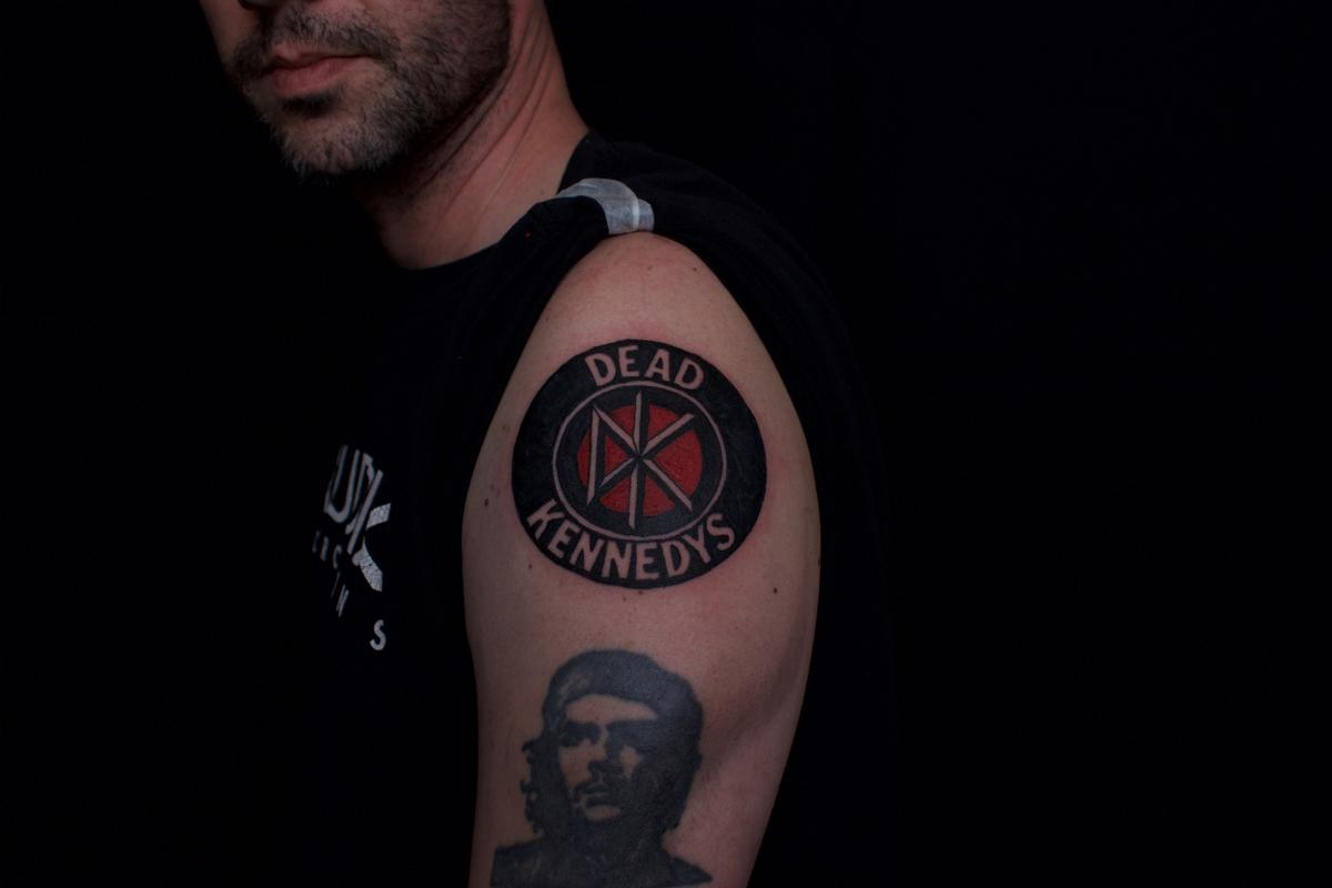 Dead kennedys tattoo by ben licata tattoonow for Tattoo for dead brother