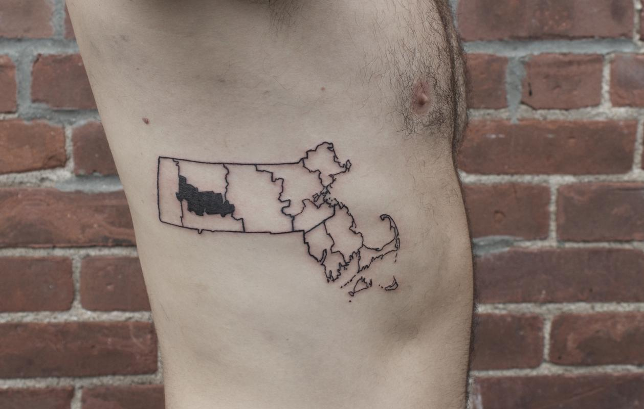 Off the Map Tattoo :