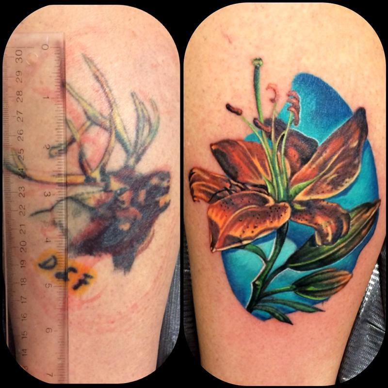 Human Canvas Tattoo : Tattoos : Color : Cover-up