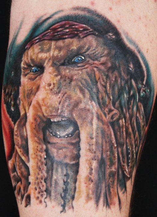 Human Canvas Tattoo : Tattoos : Portrait : Pirates of the