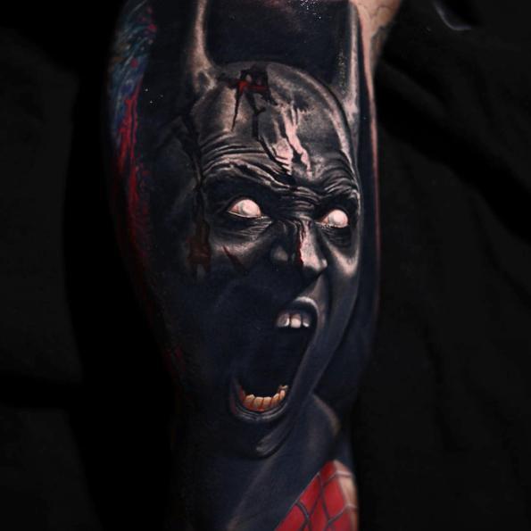 Batman Tattoo by Nikko Hurtado : Tattoos