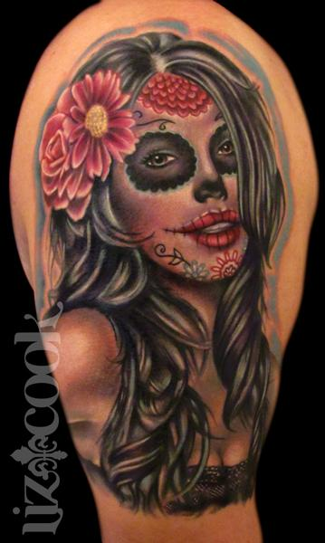 Dia De Los Muertos by Liz Cook : Tattoos