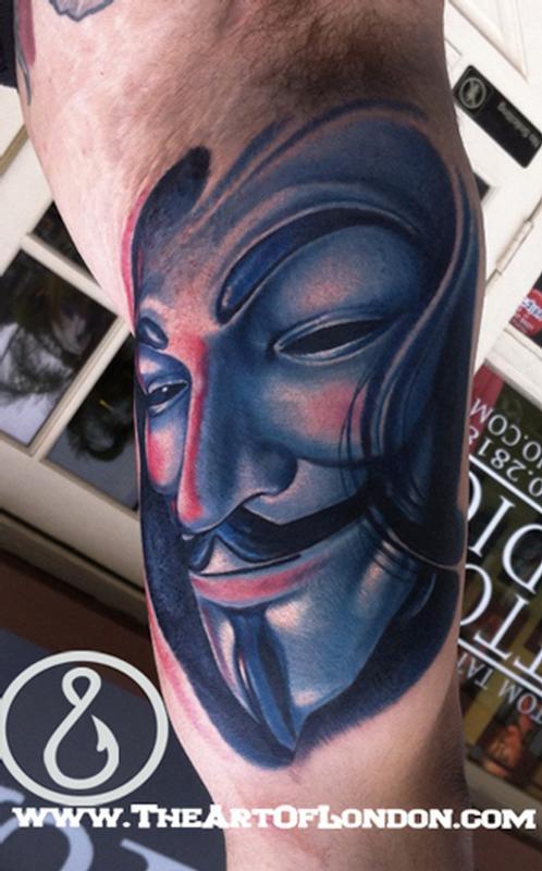 V For Vendetta Tattoo Ideas For Vendetta Tattoo V-...