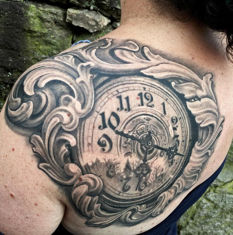10c6c7029 Off the Map Tattoo : Maximilian Rothert : Tattoos : Page 1
