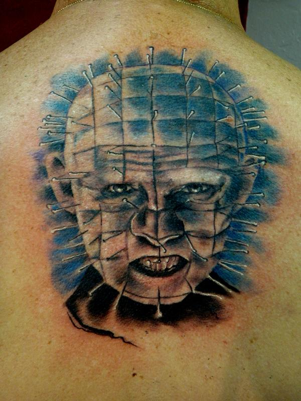 Pinhead tattoo by mully tattoos for Tattoo fort myers