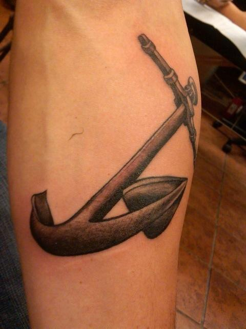 Anchor by su houston tattoonow for Tattoos of houston