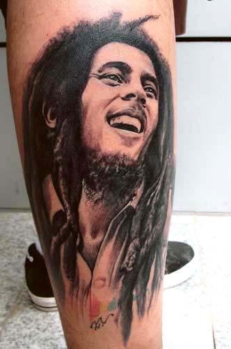 Portrait Tattoos Music