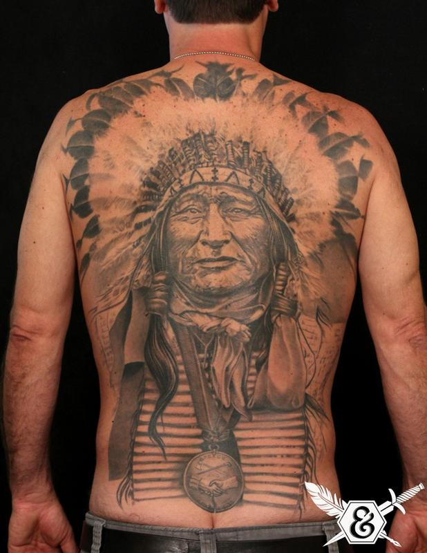 Off the map tattoo tattoos body part back native for White heritage tattoos