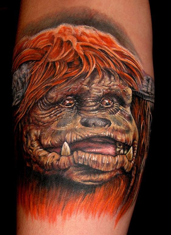 by Stefano Alcantara : Tattoos Labyrinth Movie Tattoo