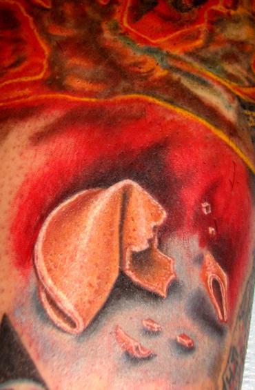 Fortune Cookie Tattoo by Stefano Alcantara : Tattoos