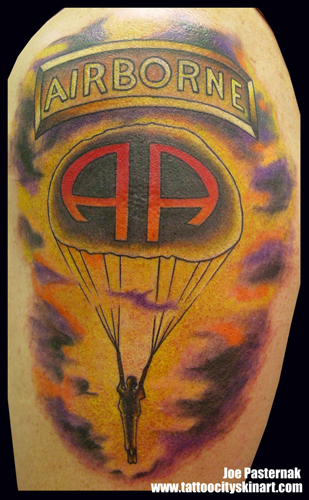 The gallery for airborne infantry tattoos for 101st airborne tattoos