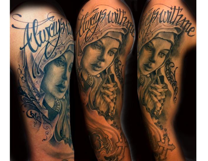 Религиозные наколки татуировки, их значение татуировки