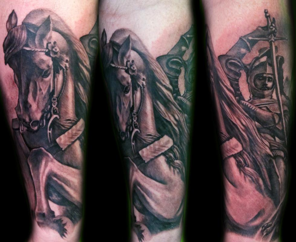 St george san giorgio by luca natalini tattoonow for Tattoo shops in st george