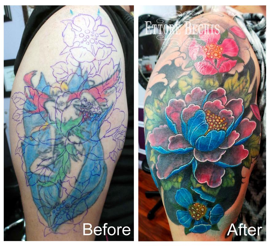 Ettore Bechis Cover Up
