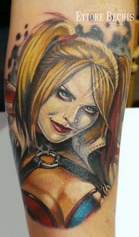 harley quinn tatoo