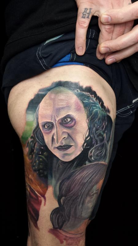 The penguin danny devito by halo tattoonow for Tattoos by halo