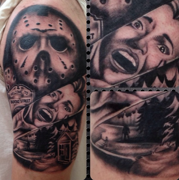 friday the 13th by jasmine rodriguez tattoonow