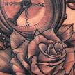 Compass and Rose tattoo Tattoo Design Thumbnail