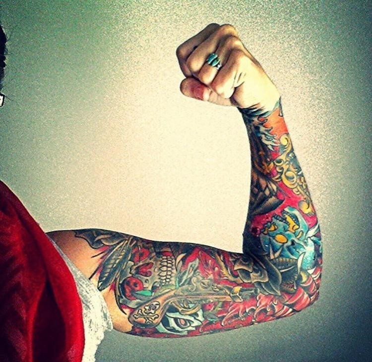 Sleeve by kevin cutter tattoonow for Charleston tattoo artists