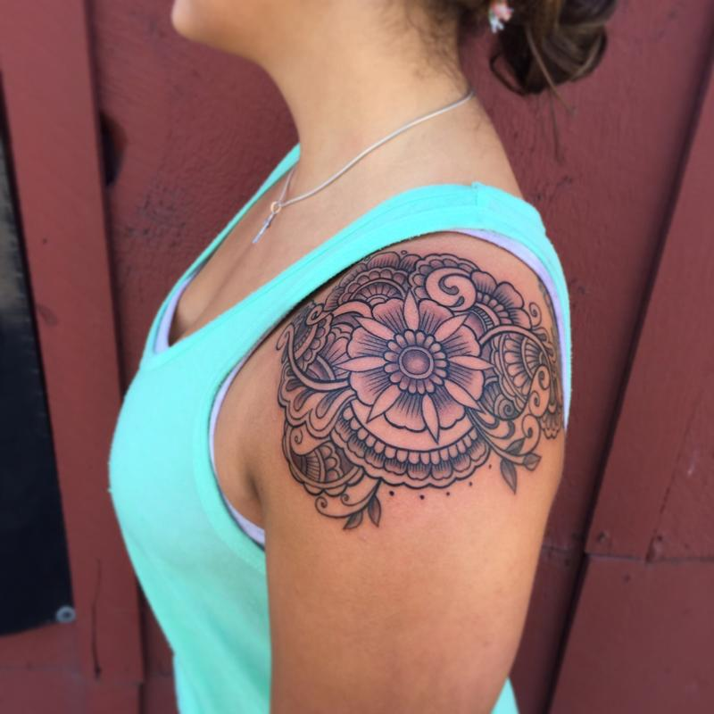 25 Half Sleeve Tattoos For Women - SloDive