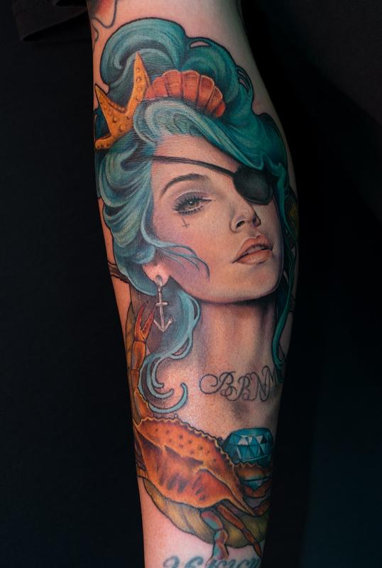 Off the Map Tattoo - photo#14