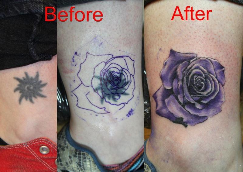 color rose tattoo by mirek velstotker tattoonow. Black Bedroom Furniture Sets. Home Design Ideas