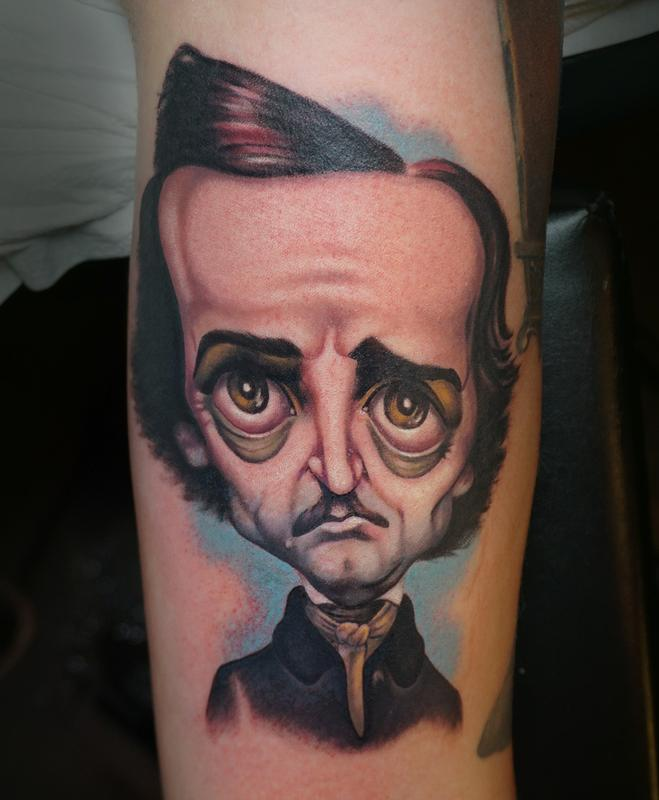 A minds eye tattoo tattoos tyler andrews poe for Tattoo shops tyler tx