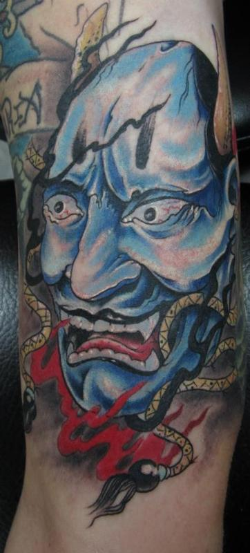 The blue hanya by mathew delamort tattoonow for Tattoo shops in clarksville