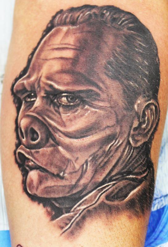 Doctor bernardi by david dettloff tattoonow for Ink lab tattoo