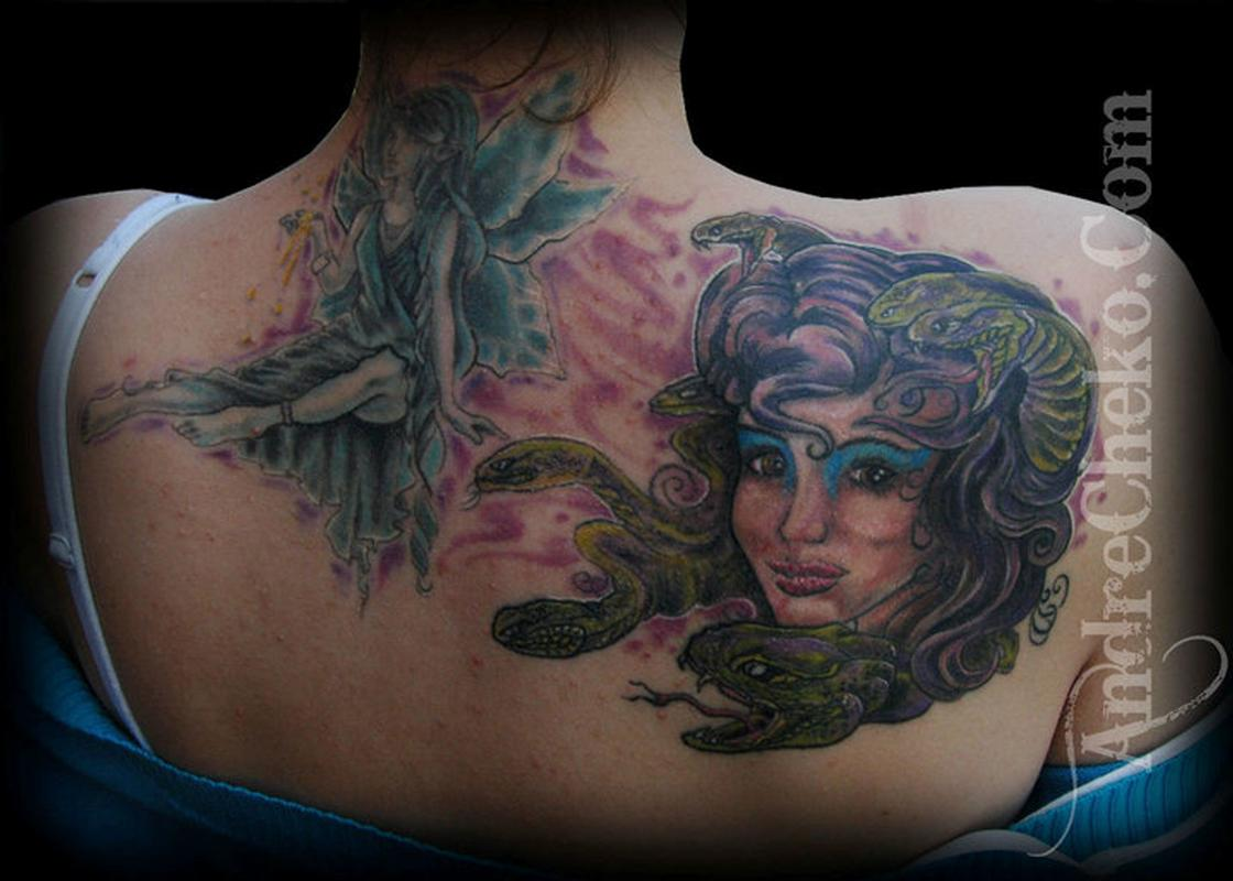 black to colour tattoos