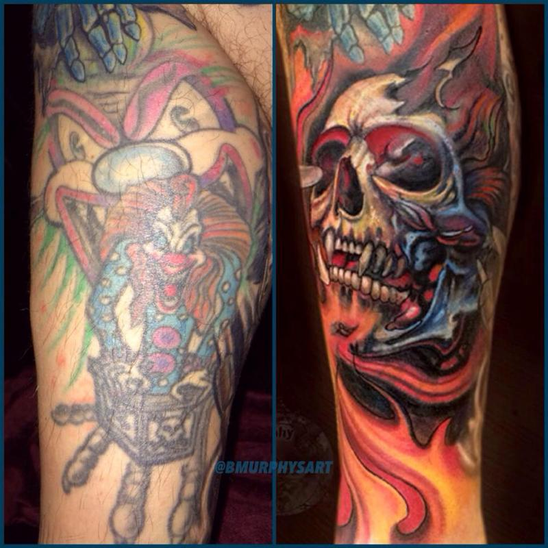 Cover up by brian murphy tattoonow for Masterpiece tattoo staten island